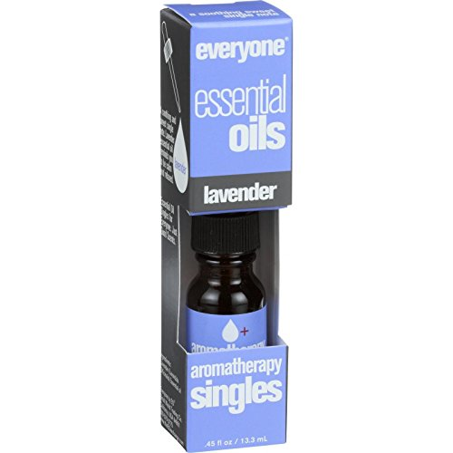 EO Products Everyone Aromatherapy Singles - Essential Oil - Lavender - .5 oz (Pack of 2) ()