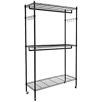Amazon Com Seville Classics 14 Quot Deep Heavy Duty Steel