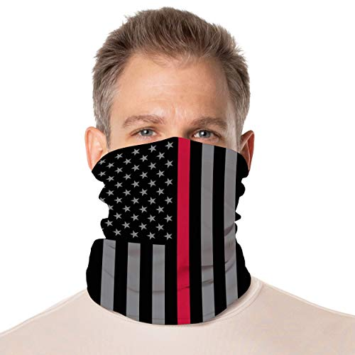 Vapor Apparel Solar Gaiter, Multi Use Face Cover with UPF 50+ UV Protection for Men and Women