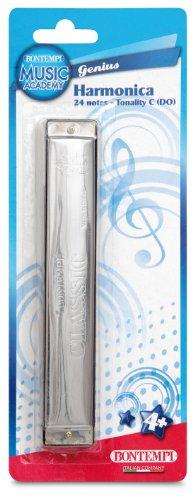 BONTEMPI-HM 24-instrument de musique-Harmonica en métal 24 notes