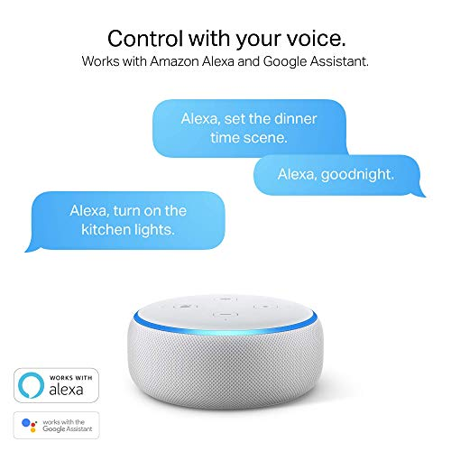 Kasa Smart (HS100) Plug by TP-Link, Smart Home WiFi Outlet Works with Alexa, Echo, Google Home & IFTTT, No Hub Required…