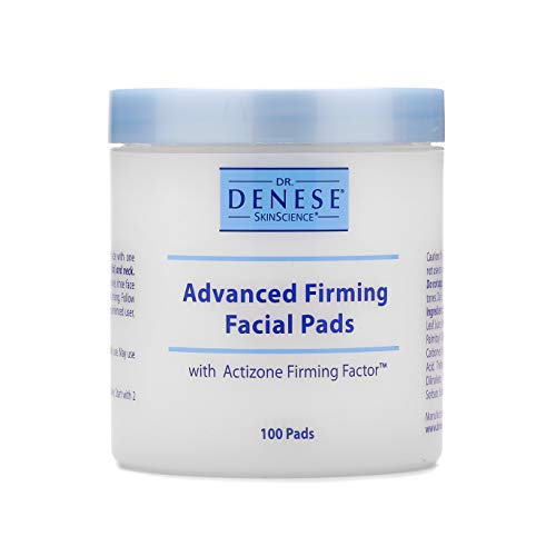 Dr. Denese SkinScience Advanced Firming Facial Pads Exfoliate & Deeply Cleanse Pores with Actizone Firming Factor…