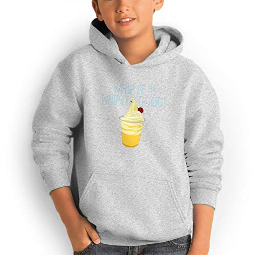 Shenhuakal Youth Hoodies Dole Whip It Good Ggirl%Boy Sweatshirts Pullover with Pocket Gray 29 by Shenhuakal