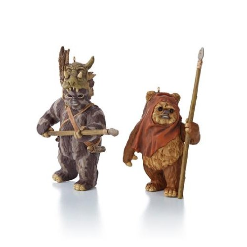 Wicket And Teebo - Star Wars Return of the Jedi 2013 Hallmark Ornament