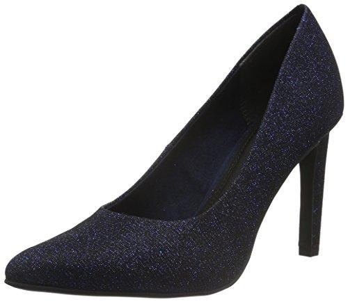 22425 Metallic Mujer Marco Azul Para Zapatos Tozzi 824 navy De Tacón gzrY5z4wq