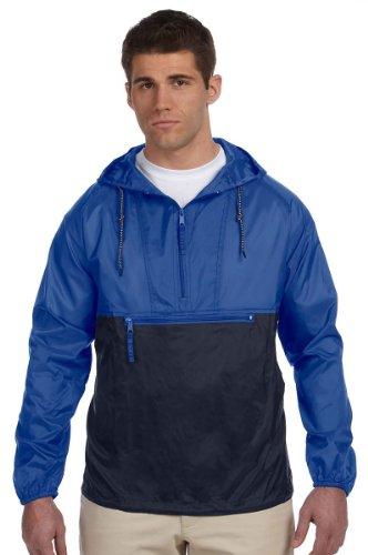 Athletic Nylon Pullover - 1