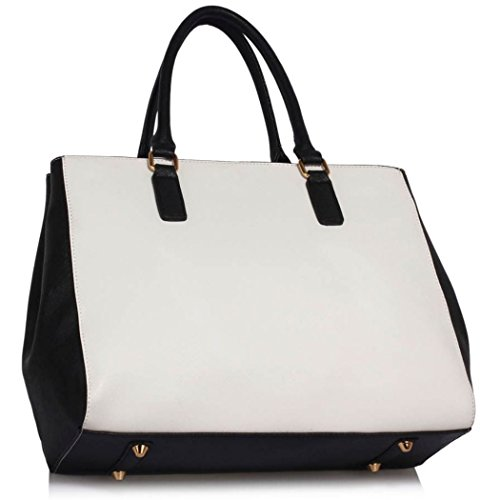 Holiday White Cross School Office Tote Tote Black Bags Bag Shoulder Body Large Women Size Handbags 00349 Bag Sale For For Clearance LeahWard Hq86OBw7