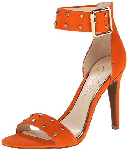 Jessica Simpson Women's Elonna2 Dress Sandal, Juicy Orang...