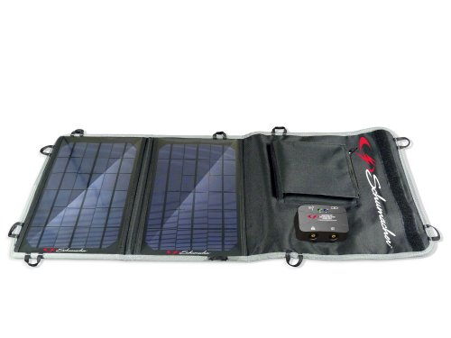 Schumacher SP-100) 10W Foldable Solar Charger