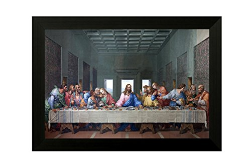 SAF 'Jesus' UV Textured Painting (Synthetic, 35 cm x 50 cm x 3 cm, Multicolor)