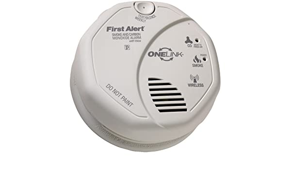 FATSCO501CN3ST - FIRST ALERT SCO501CN-3ST ONELINK Battery Operated Combination Smoke Carbon Monoxide Alarm with Voice Location by First Alert - - Amazon.com