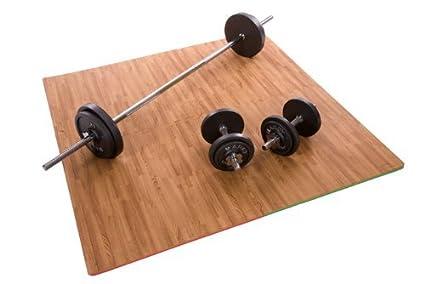 Sell ideas ® branded effetto legno interlocking eva foam exercise