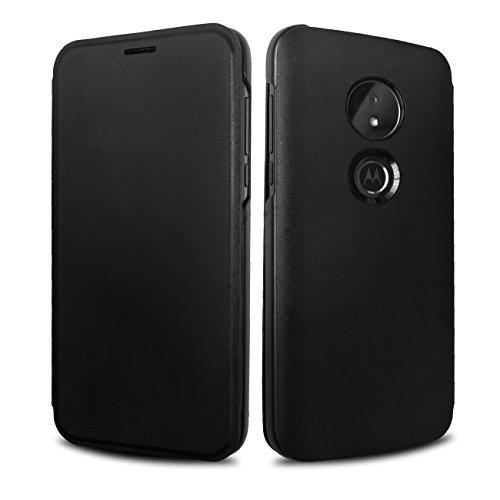 Moto G6 Play Case,Lenovo Original Flip Cover Shell Shock Resistant Protective Folio Flip Case for Motorola Moto G6 Play