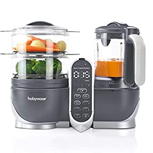 Duo Meal Station Food Maker 6 in 1 Food Processor with Steam Cooker, Multi-Speed Blender, Baby Purees, Warmer, Defroster…
