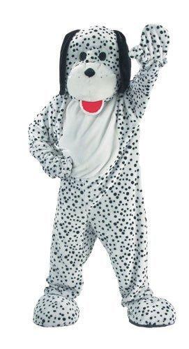 Dress Up America Adults Attractive Dalmatian Mascot Costume