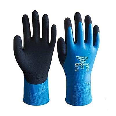 Garden Gloves/ Gardening Gloves/ Silicone Gardening Gloves/ Safety Work Gloves/ Protective Gardenging Gloves for Women & Men by Freehawk®, Great Grip on Home & Garden Equipment, Set of Pairs