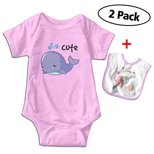 (Benunit Cute Light Blue Whale Boys' Cotton Short-Sleeve Outfits Shower Gifts 12-18 Month One-Piece)