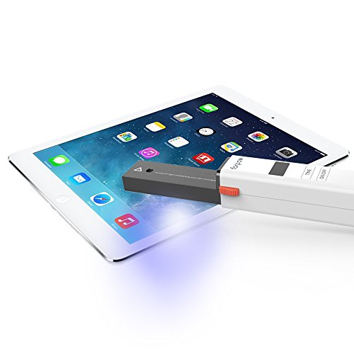 forpow ultraviolet lamp Sterilizer travel Wand sanitizer,viruses germs & bacteria killer of mobile phones tablets and keyboards.High Sterilization rate,longlifetime(AAABattery not Included ) by forpow (Image #5)