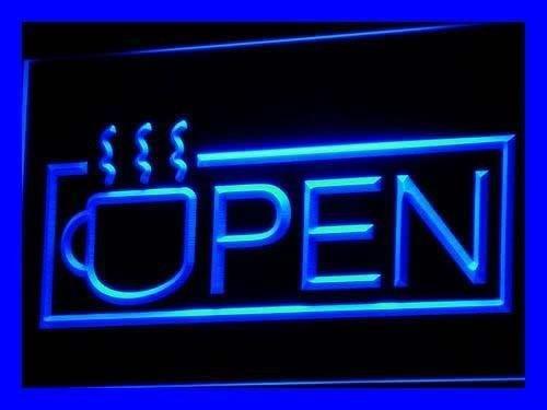 PemaネオンSign i537-b OpenコーヒーNeon Light Sign   B004G9T5H0