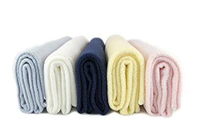 Luxurious Cozy Premium Super Soft 30 x 40 Fleece Throw Baby Blanket For Strollers, Car Seats, Kids Bed & Pets