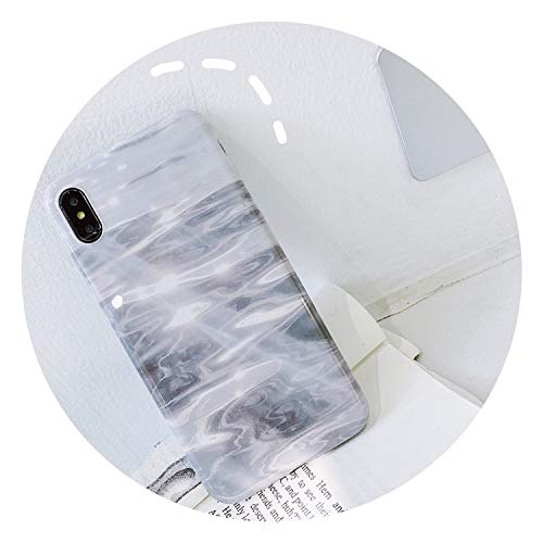 Sea Wave Silicon Phone Case for iPhone 7 8 Plus XS Max XR Ink White Cases for iPhone X 8 7 6 6S Plus Soft TPU Cover Coque Capa,Sea Wave,for iPhone 8