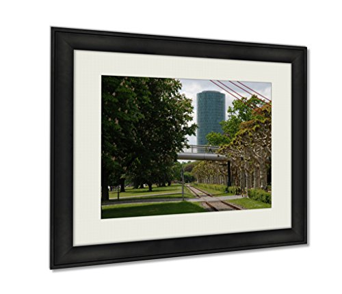 ashley-framed-prints-commerzbank-building-in-frankfurt-am-main-black-24x30-art