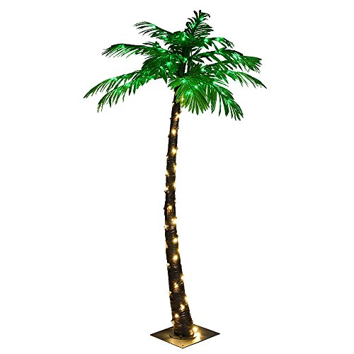 LIGHTSHARE Lighted Palm Tree, Small (Palm Up Light Tree Outdoor)