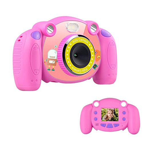 denicer Children's Camera 2 Inch Color Screen Taking Video/Photo, Kids Camera for Boys & Girls Festival, No SD Card, No Battery, Built-in 9 Different Photo - Color 2 Inch Screen