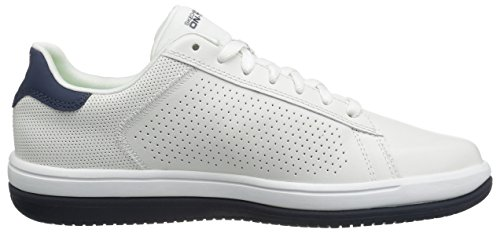 Skechers Prestanda Mens On-the-go-raise Walking Sko Vit / Marinblå
