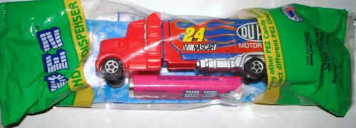 New Nascar #24 Dupont Motorsports Jeff Gordon Truck Dispenser and Candy Refill