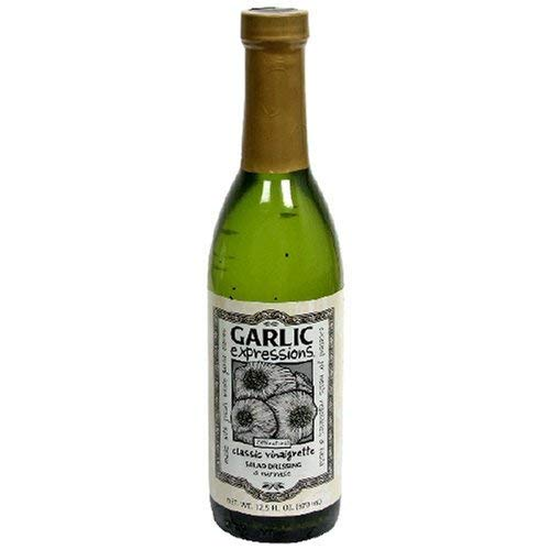 Garlic Expressions Classic Vinaigrette Salad Dressing 12.5 OZ (Pack of 1) (The Best Vinaigrette Salad Dressing)