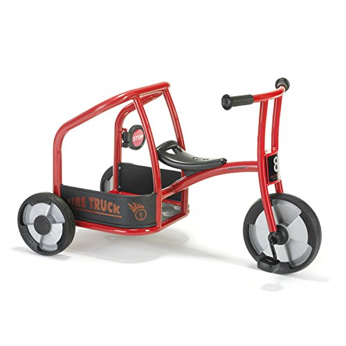 Winther Fire Truck Tricycle Kids Ride On