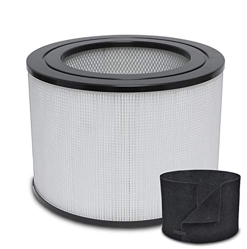 Replacement HEPA Filter & Carbon Filter for 24000 Honeywell Air Purifier 24000/ 24500
