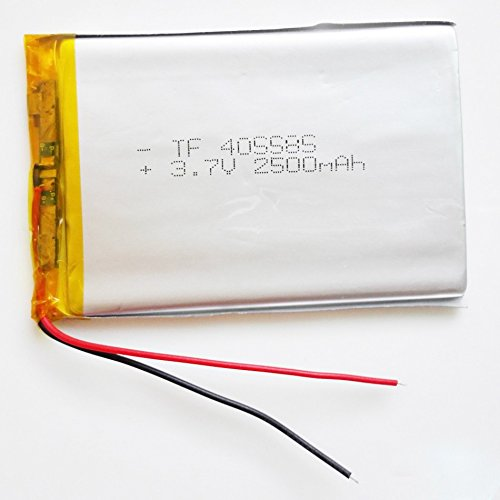 Ofeely 3.7V 2500mAh 405585 Lithium Polymer Battery Li ion Rechargeable Accumulator For Mobile Power Bank DIY E-book