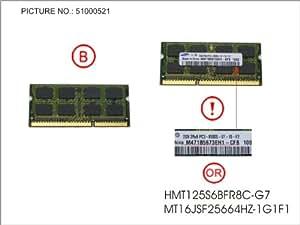Fujitsu Memory 2GB DDR-3, 34027895