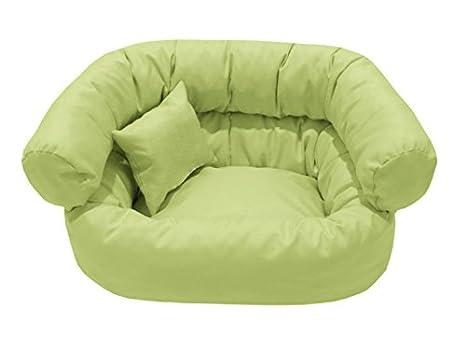 York cama para perros con un cómodo lavable desenfundable extra suave perro cesta perros perro Sofá Sofá XS 40 x 50 Nº 20 guisante verde: Amazon.es: ...