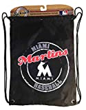 Concept One MLB Drawstring Back Sack MLB Team: Florida Marlins, Black