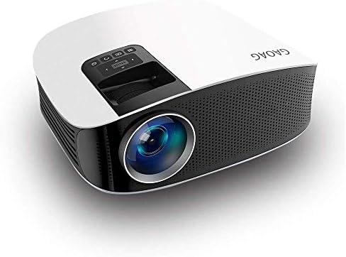 GAOAG Mini proyector - Proyector mejorado + 50 % lúmenes LED Full ...