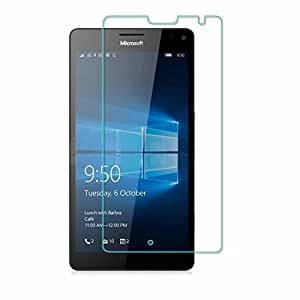 Microsoft Nokia Lumia 730 Premium Ultra Clear HD+ 9H_2.5D_0.3mm [Scratch-Resistant]-[Bubble Free] Japanese Tempered Glass Screen Protector By MARTY