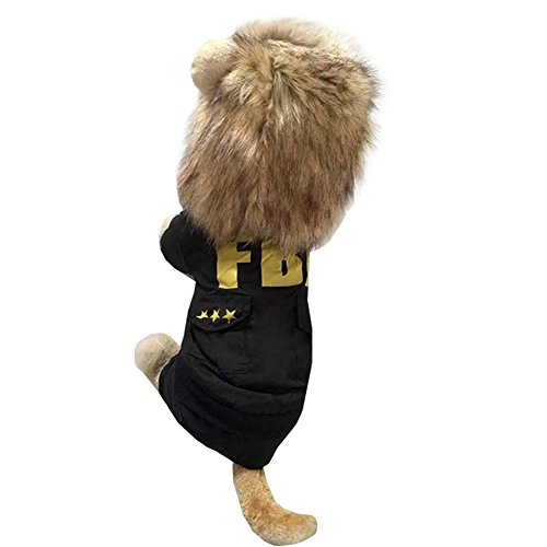 Dog Lion Mane Wigs Costume Cosplay Hair Party Fancy Dress Pet Cat Toy by ISHOWStore (Image #1)