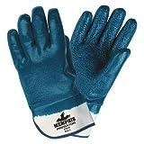 Chemical Resistant Gloves, XL, 11''L, Rough, 12 pk.