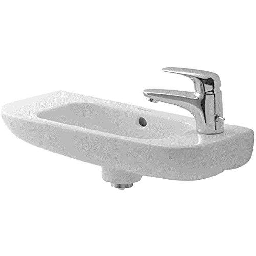 (Duravit 07065000082 D-Code Hand rinse Basin, White)