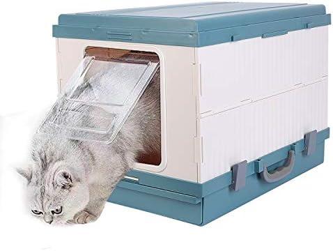 BingoPaw Caja de Arena para Gatos Plegable, Arenero Gatos con Pala ...
