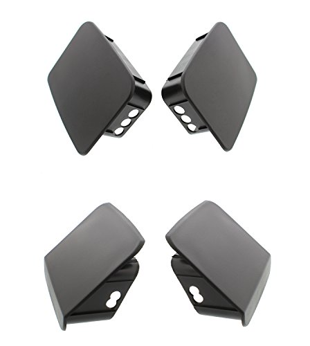 - Mopar Jeep Wrangler TJ Front & Rear Bumper End Cap Set