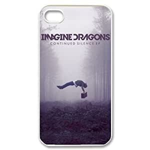 EVA Imagine Dragons iPhone 4,4S Case,Snap-On Protector Hard Cover for iPhone 4,4S by icecream design