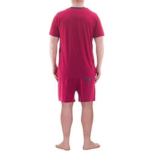 Hombre Henry Pijama Terre Blue Para Bordeaux 8w8Wgrqtx