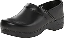 Dansko Unisex Professional Black Box Clogmule 43 (Us Men's 9.5-10, Us Women's 12.5-13) Wide
