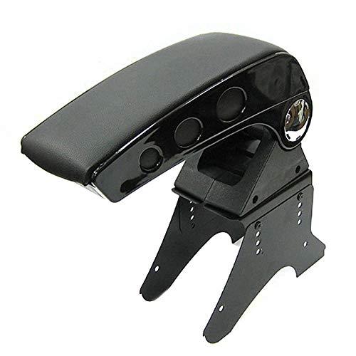 Universal Armrest Arm Rest Centre Console For Car Auto Van Bus Black Automarket22