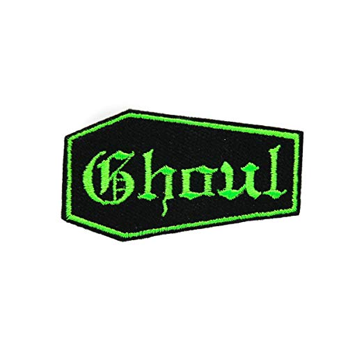 Coffin Ghoul Embroidered Patch (Coffin Patch)