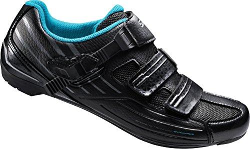 (Shimano SHRP3W Road Performance Shoe Women's Cycling 38 EU Black)